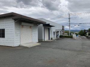 新着!! 工藤テナント/熊本市東区御領/別棟倉庫付事務所店舗