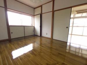 施工後の床